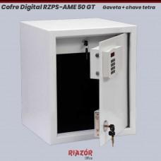 Cofre Digital RZPS-AME 50 GT com 1 gaveta e chave tetra