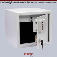Cofre Digital RZPS-DIA 40 LAP GT com 1 gaveta e chave tetra