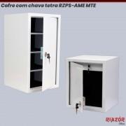 Cofre com chave tetra RZPS-AME MTE