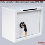 Cofre com Boca de Lobo e chave tetra RZPS-TZO BL MTE
