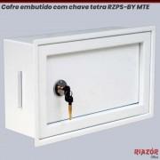 Cofre de embutir com chave tetra RZPS-BY MTE EMB