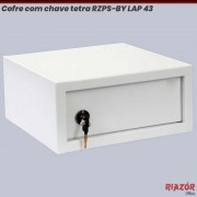 Cofre com chave tetra RZPS-BY LAP 43 MTE