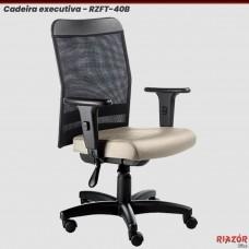 Cadeira executiva digitador telada RZFT-40B