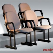 Poltronas para Auditórios c/ Assento Rebatível RZBL