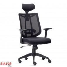 Cadeira Giratória Presidente com encosto em tela RZFK/AI