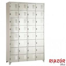 Armário de Aço com 32 Portas Pequenas RZMT/32PP