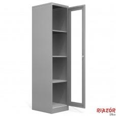 Armário de aço com porta para vidro RZMT/ACH-V