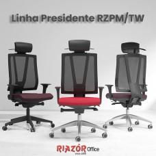 Cadeira Presidente Encosto Telado – RZPM/TW