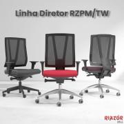 Cadeira Diretor Encosto Telado – RZPM/TW