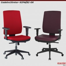 Cadeira Diretor Encosto Estofado – RZPM/BZ
