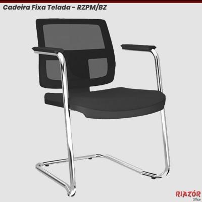 Cadeira Fixa Encosto em Tela base Contínua – RZPM/BZ