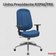 Cadeira Presidente com Costura – RZPM/PRE