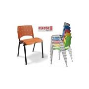 Cadeira Fixa Empilhável RZPM/ERGO