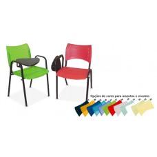 Cadeira Universitária em Polipropileno Escamoteável RZPRI