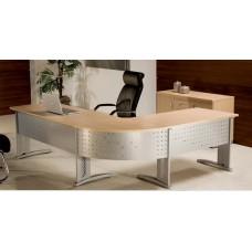 Mesa para Escritório Diretor em L RZMV PR25