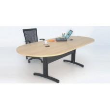 Mesa de Reunião de escritório com passa fios RZMV/IMPR/18