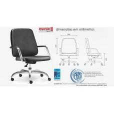 Cadeira giratória para obesos - RZFK-MAX