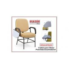 Cadeira para obeso com prancha escamoteável – RZGG30PB/ES
