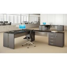 """Mesa de Diretoria em """"L"""" RZMV/ATT"""