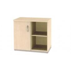 Armário baixo com uma porta e uma prateleira externa RZMV