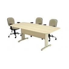 Mesa de Escritório para Reunião RZMV/IMPR/25 Retangular