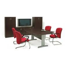 Mesa de Reunião Semi-Oval – RZMV/PLUS25